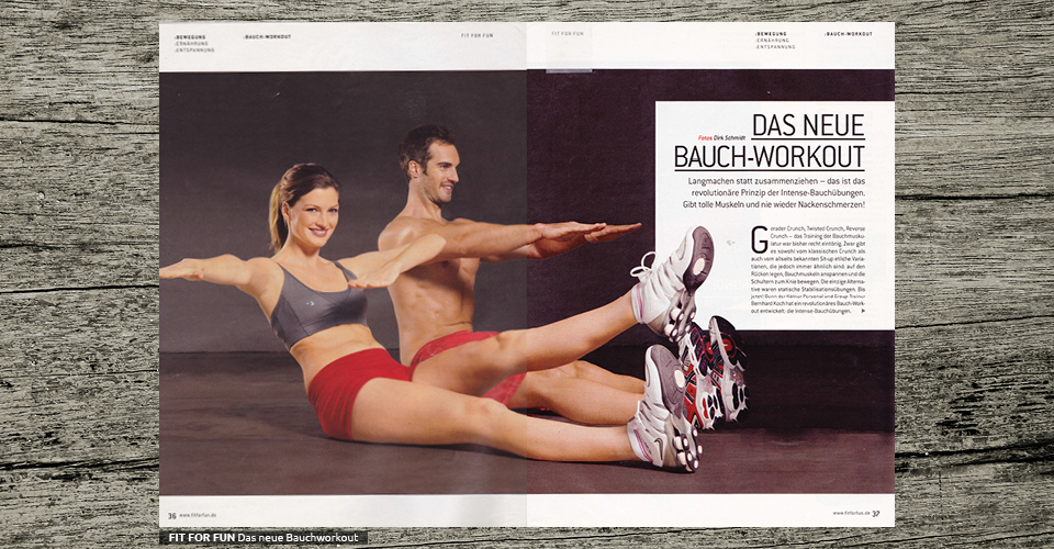 FIT FOR FUN - Das neue Bauchworkout