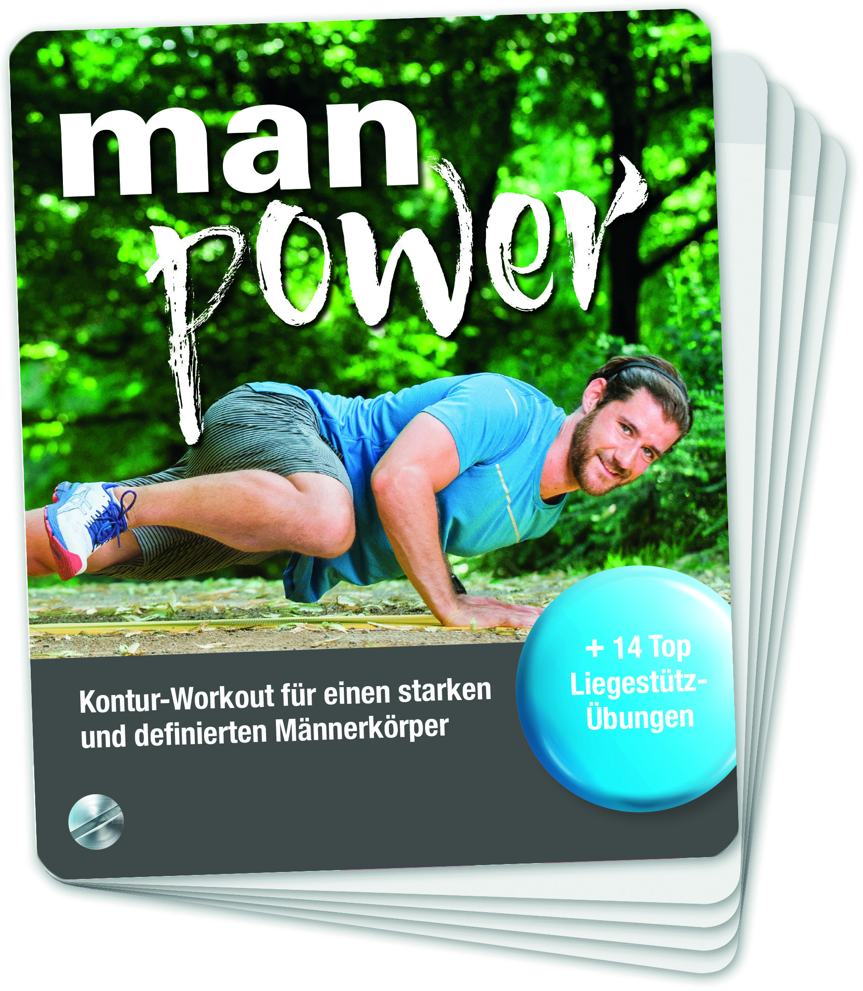 Buchkarten – Man Power